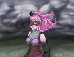 Rainy Day for Rosie by MsChamomile