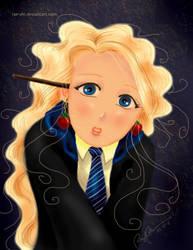 Luna Lovegood by rae-shi