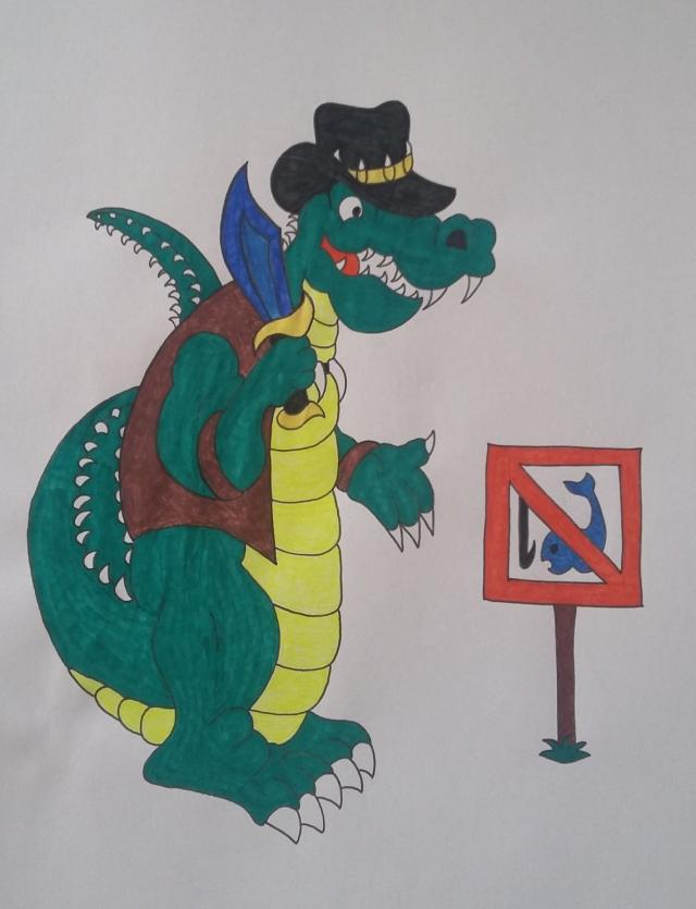 Crocodile Dundee by cavaloalado