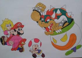 Mario World by cavaloalado