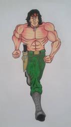 Rambo Version 2 by cavaloalado