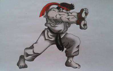 Ryu Version 2 by cavaloalado