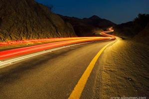 Jizan Road by almumen