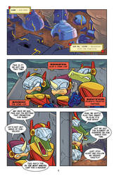 No Zone Archives Issue 1 pg01 by Chauvels