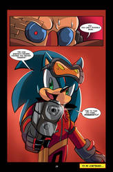Sonic: The G.U.N. Project Pt3 pg24 by Chauvels