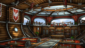 Airship Bar by budlong