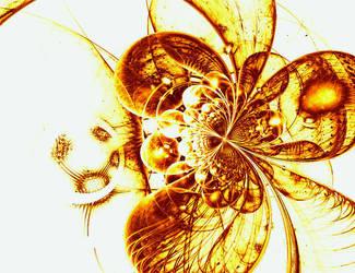frozen in amber by scarabbeo