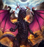Black Dragon by KamiwaiZu