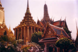 Thailand temple by fa-stock