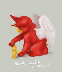 Only friend by Gift-of-the-Fairy