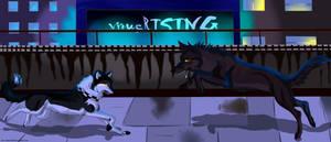 virusRISING Contest Entry by lunarwolf16