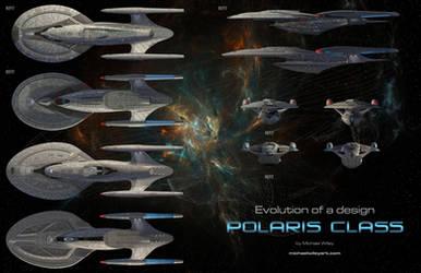 Evolution of a design - Polaris Class by trekmodeler