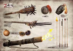 ZANTETSU - Craftable weapons by seansamson