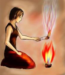 Burn, burn and... by Meowka