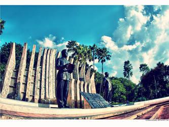 SoekarnoHatta.Statue by wisephotography