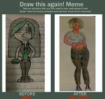 Draw This Again Meme by MintQuetzal