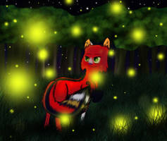 Fireflies by MightystarEL