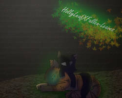HollyLeafXFallen-Leaves by MightystarEL
