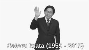 Satoru Iwata by Evilgidgit