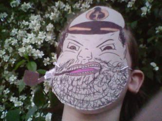 The Good Captain mask by LeesaaSlipsun
