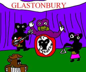The MT Experience perform at Glastonbury by LeesaaSlipsun