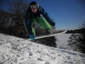 Snowboarder- by Vierrick