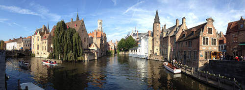 Canal in Bruges by GoodUsername22