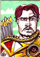 MOTU Bow Sketch Card no 1 by Barnlord