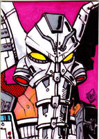 MOTU Snout Spout sketch card no 1 by Barnlord