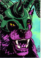 MOTU Panthor Sketch Card no1 by Barnlord