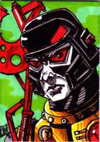 MOTU Blast Attak sketch card no 1 by Barnlord