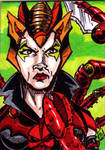 MOTU Scorpia Sketch Card by Barnlord