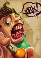 graffiti madness by thezork