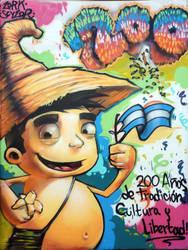 cipitio bicentenario by thezork