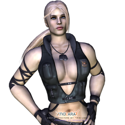 MK9 Sonya Retexture by little--miss--mia