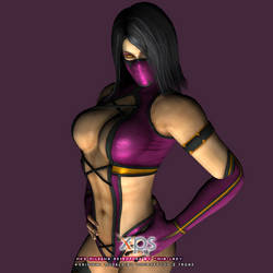 MK9 Mileena Primary Costume Retexture by little--miss--mia