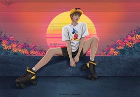 Kim Daily #133 by G-A-B-J-O-O-N