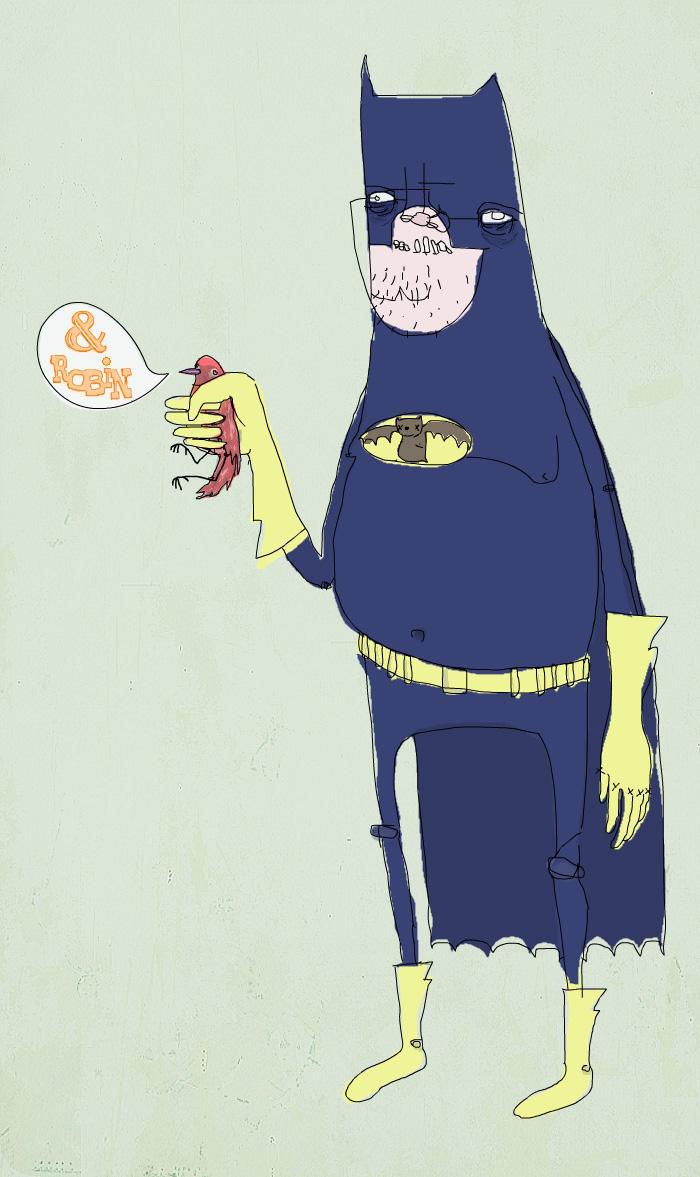 batman by elephantseed