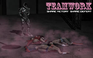 Teamwork ... Share Victory Share Defeat by ShadowhawkOne