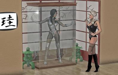 Jade Spectre caught by ShadowhawkOne