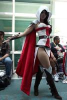 Female Assassin's Creed cosplay by NitroStarPony