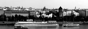 Prague wallpaper 5760x1200 by petrpedros