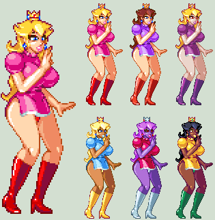 Peach Palettes by CaseterMK