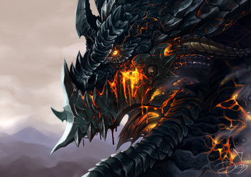 Deathwing the F Destroyer by DiraDove