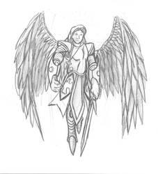 Armed Seraphim by TargonRedDragon