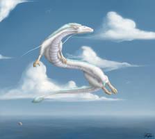 Dragon of Spirit World by TargonRedDragon