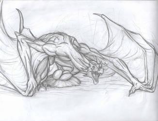 Firkrogg on Guard by TargonRedDragon