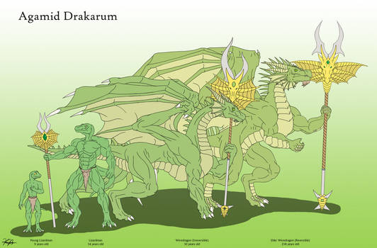Agamid's Life Stage by TargonRedDragon