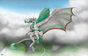 1st place winner: Yireal's Wing's of Light by TargonRedDragon