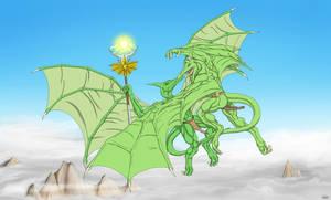 Dinosaur Assault 3: The Sky of Oppression by TargonRedDragon